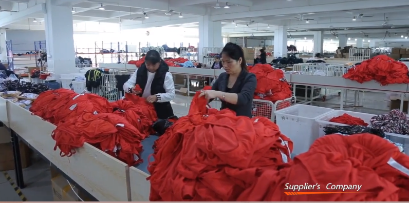 inspection of swimwear manufacturer