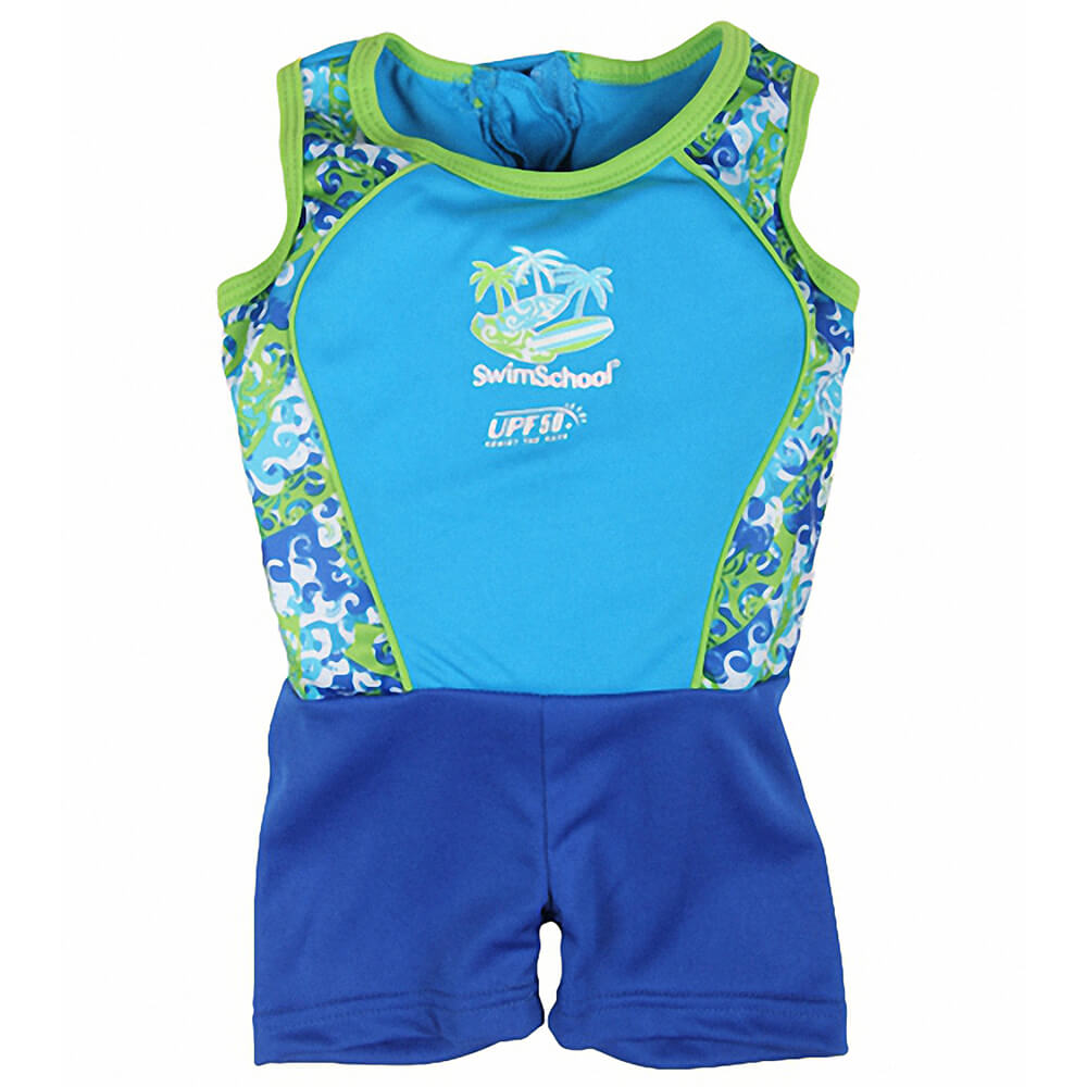 toddler swimwear with flotation