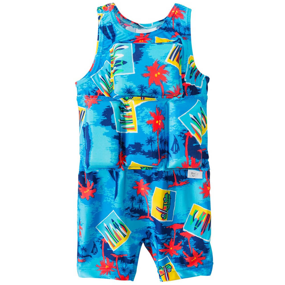 baby boy swimsuit with floats