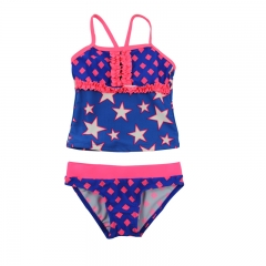 Tankini swimming clothes for little girls