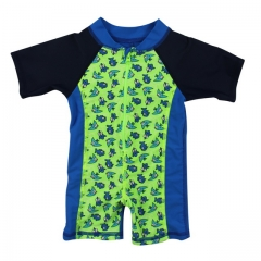 One piece rash  guard  toddler boys