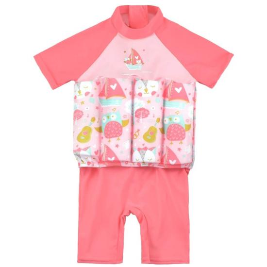 baby girl swimsuit with floats
