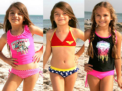 Hot Swimming Costumes for Little Girls in 2016